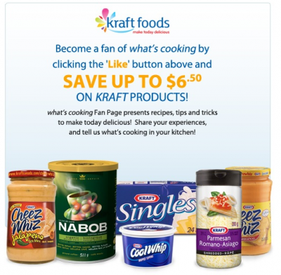 Kraft food coupons kraft coupons for Cuisine kraft